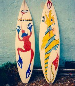 frog and dragon board