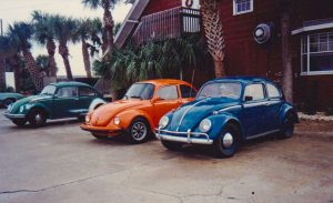surfing VW Bugs