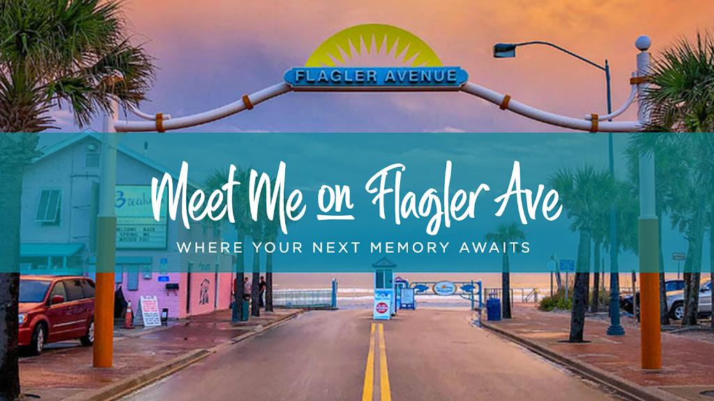 Flagler Ave New Smyrna Beach